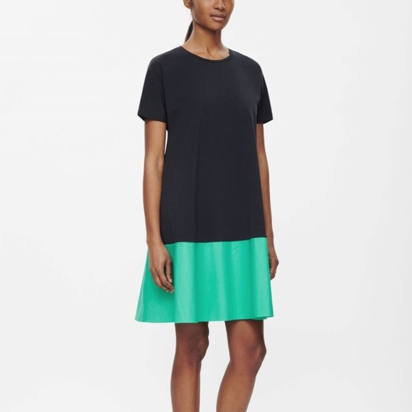 ce563876be COS Dresses   Skirts - COS Contrast Panel A-Line Dress